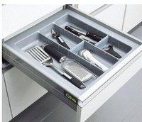 Cutlery Tray Silver Grey