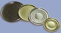 Metal Ends For Canned Food Packing