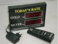 LED Rate Displays
