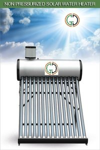 Non Pressurized Solar Water Heater With Assistant Tank