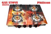 Four Burner Digital Gas Stove