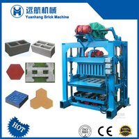 Manual Cement Concrete Brick Making Machines