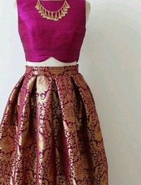 Handloom Kimkhab Brocade Fabric