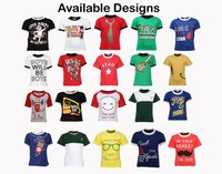 Pack of 50 Cotton T-shirts for Boys