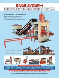 Automatic Bricks And Blocks Making Machines