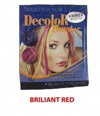 Hair Bleaching Powder Hilighting Color Red Shade Powder Base Hair