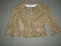 Hand Painted Ladies Jacket