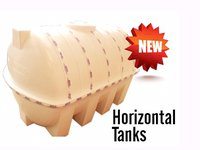 Horizontal Water Tanks