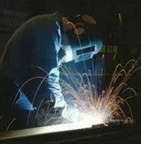 MS Sheet Metal Fabrication Work Services