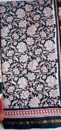 Printed Chanderi Silk Sarees
