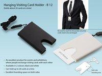 Hanging Visiting Card Holder