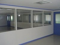 Clean Room Modular Flush Sandwich Panels