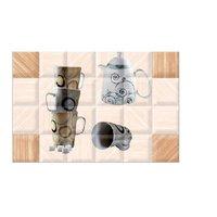 Cup Kettle Design Kitchen Tiles