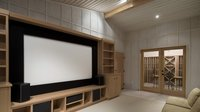 Fixed Frame Projection Screens