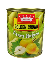 Golden Crown Pear Halves