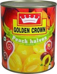 Golden Crown Peaches Halves