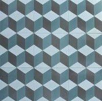 Cube Cement Tile
