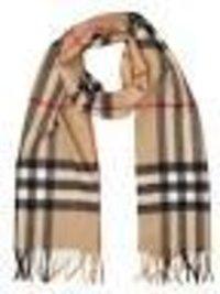 Designer Cashmere Check Shawls