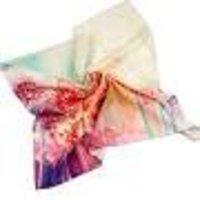 Cashmere Silk Digital Print Shawl