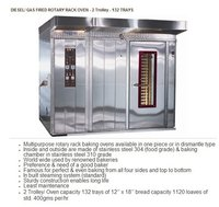Diesel And Gas Fired Rotary Rack Oven