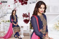 Ladies Full Embroidery Work Unstitched Suit
