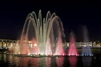Colorful Musical Fountains
