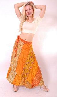 Vintage Silk Saree Skirts