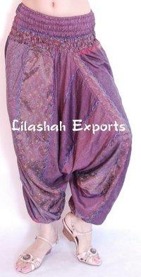 Exclusive Ladies Vinatge Silk Trouser