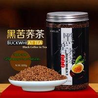 Black Coffee In Black Tartary Buckwheat Tea