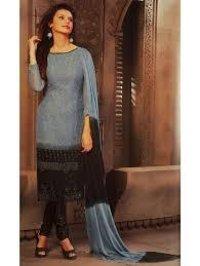 Unstitched Ladies Salwar Suit