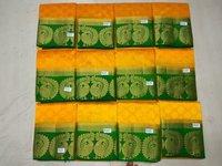 Yellow-Green Silk Sarees