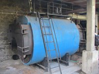 Wood Fired Horizontal Steam Boiler