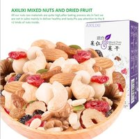 Axilixi Mixed Nuts And Dried Fruit Family Pack