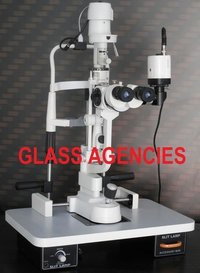 Haag Streit Type Five Step Slit Lamp With Camera