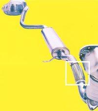 Automotive Exhaust Flex Pipes