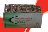 Diclofenac Potassium 50mg + Serratiopeptidase 10mg Tablets