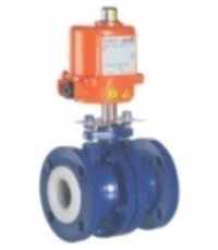 Industrial PTFE Lined Actuated Ball Valve
