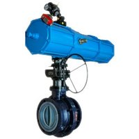 PTFE Lined Actuated Ball Valves