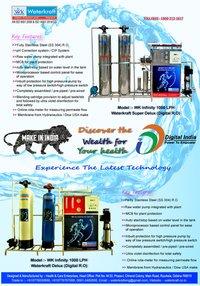 Waterkraft Infinity 1000LPH RO Plant