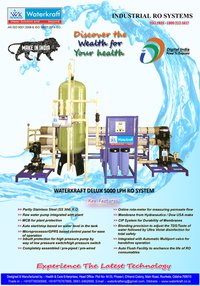 Waterkraft 5000lph Ro Plant