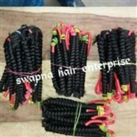 Indian Remy Curly Weft Virgin Hair