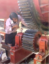 Girth Gear And Pinion For Rotary Kiln