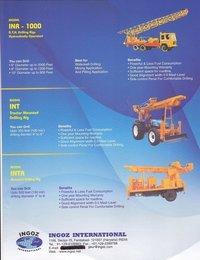 Borewell Drilling Machines