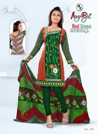 Cotton Printed Dress Materials for Salwar Suits