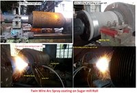 Machining and Coating Service of Sugar Mill Roll