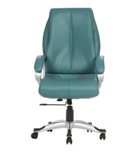 Ocean Green Puntada Hb Executive Chairs
