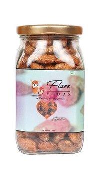 Flave Food California Ajwain Almonds (Badam)-200 Gms