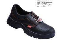 Vectra Barton Print Leather Safety Shoes