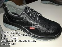 Valcano Double Density Leather Safety Shoes