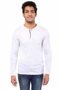 White Round Neck T Shirts